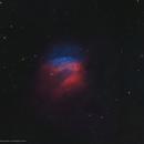 Sh2-174 Ancient Planetary Nebula in HOO,                                Douglas J Struble