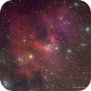 The Cave Nebula - SH2-155,                                  Eric Coles (coles44)