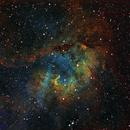Sh2-132 in HST palette,                                Gordon Haynes