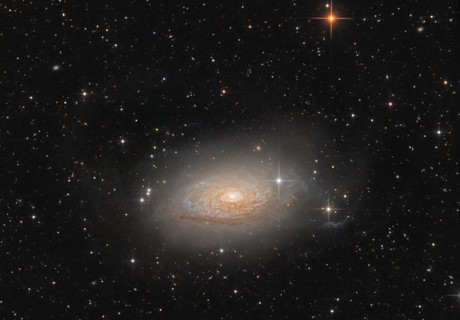 M63 Sunflower Galaxy,                                Lukas_TW