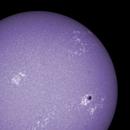 Sun in CaK 3rd of July 2021 - colorized,                                Arne Danielsen