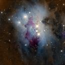 NGC 1977 - Running Man Nebula - LRGB,                                Francesco Di Cencio