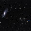 Messier 106 and NGC4217,                                Péter Feltóti