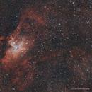 M16 - Nébuleuse de l'aigle,                                Ludovic
