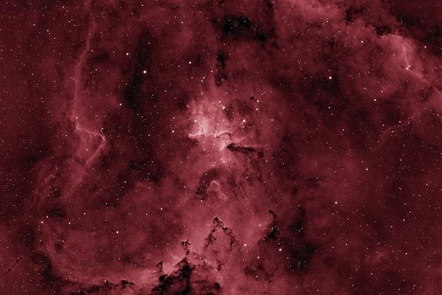 Heart of the Heart Nebula - IC 1805,                                Rhett Herring