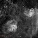 Flaming Star Nebula,                                Jyrki