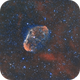 Crescent Nebula NGC6888 (dual rig),                                Carastro