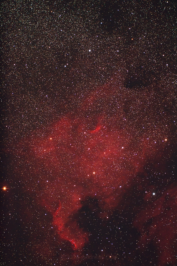 NGC 7000,                                Andreas Otte