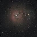 M20 - Trifid Nebula,                                lonespacewolf