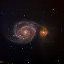 M51- The Whirlpool Galaxy,                                Matt Harbison