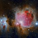 M42 & Running man Nebula,                                Davide Coverta