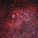 Sh2-54 (LBN72), OC NGC6604, Gum84 (Scary Face),                                Rolf Dietrich