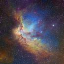 The Wizard Nebula - Hubble Palette _ NGC 7380,                                Eric Coles (coles44)