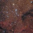 NGC6871 + B146 + B147 in Cygnus,                                Jenafan