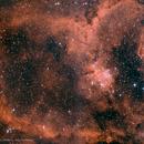 The Heart Nebula / 2 Frames Mosaic,                                Kai Albrecht