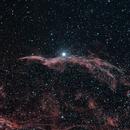 Veil nebula NGC6960,                                christian.hennes