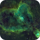 IC 1805 - Heart Nebula - SHO - Esprit 80 - ASI1600MM - Wide Field,                                Rowland Archer