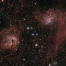 IC405 & IC410,                                  matthiasC