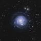 ngc3344-galaxie de l'oignon coupé,                                astromat89