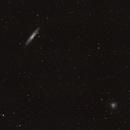 NGC253 Sculptor Galaxy and NGC288 Globular Cluster,                                Gerard O'Born