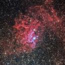 IC 405, flamming star nebula,                                JesusM.L.
