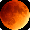 Super Blood Moon from total eclipse,                                gjewison