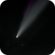 Comet NEOWISE with and without ISS Flyby,                                Richard Vanderbeek