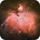 Messier 42 - The Orion Nebula,                                Johannes D. Clausen