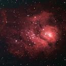 Lagoon Nebula,                                Jairo Amaral