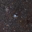 NGC 7129 & 7124 with Nikon D5600a & Baader BCF1,                                Christian Höferlin
