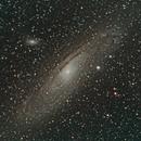 M31 using NBRGB,                                JDJ