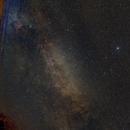 Cygnus and the summer Milky Way,                                Albert van Duin