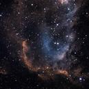 Soul Nebula - IC 1848,                                Tommy Lease