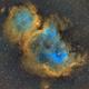 IC1848 Soul Nebula,                                Ilyoung, Seo