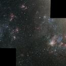 NGC 2070 to NGC 1955 and Friends,                                Tom KoradoxTom