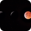 Total Lunar Eclipse, 20 Jan 2018,                                  Luke Arens