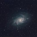 M33 - The Triangulum Galaxy or Pinwheel Galaxy,                                marcopics3000