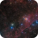 ngc 2477 and ngc 2451 in Puppis,                                andrealuna