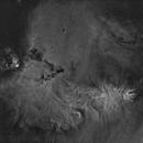 Cone nebula NGC2264 & christmas tree cluster Ha starless.,                                lukfer