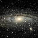 M31 Andromeda Galaxy,                                Arturo Merchán