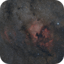 The North American Nebula - very widefield - test data,                                Simon