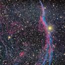 NGC 6960 - Western Veil Nebula,                                Jonathan Hankey