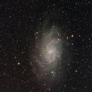Messier 33 - The Triangulum Galaxy,                                Arun H.