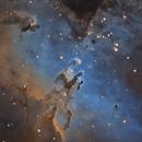 M16 The Eagle Nebula - Pillars of Creation,                                Andreas Eleftheriou