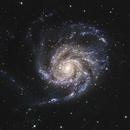 M101 Pinwheel Galaxy,                                Ryan Kinnett