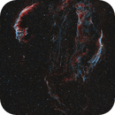 Veil Nebula Complex: 6 telescopes; 2 years; and 4 countries,                                Steve Milne