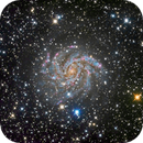 Very deep NGC 6946,                                Colin McGill