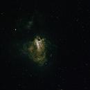 M17 The Omega Nebula,                                 degrbi