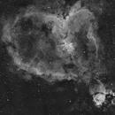 IC1805 Heart nebula 2 pane mosaic in Ha,                                Sergiy_Vakulenko