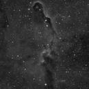 Elephant Trunk Nebula in Ha,                                Ioannis Komianos